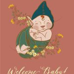 Faerie-Baby-card