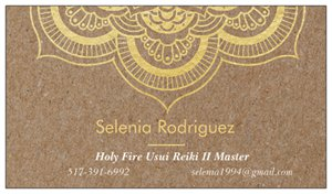 Selenia Rodriguez, Holy Fire Usui Reiki Master